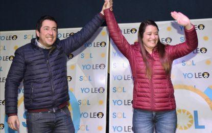 SOL JIMENEZ ARRASÓ EN MALVINAS ARGENTINAS CON UNIDAD CIUDADANA