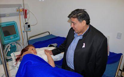 JOSÉ C. PAZ HACE HISTORIA CON PRIMERA INTERVENCIÓN DEL EQUIPO HAIFU EN TUMOR