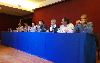 INTENDENTES DE UNIDAD CIUDADANA, FELIPE SOLÁ Y REFERENTES DEL EVITA JUNTOS POR EL PJ