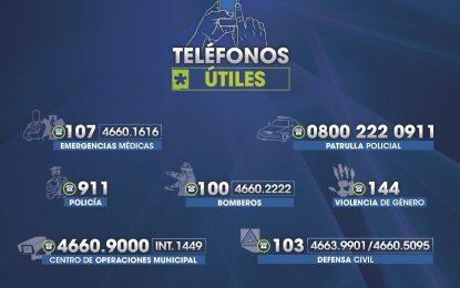 CRONOGRAMA DE SERVICIOS EN LAS FIESTAS EN MALVINAS ARGENTINAS