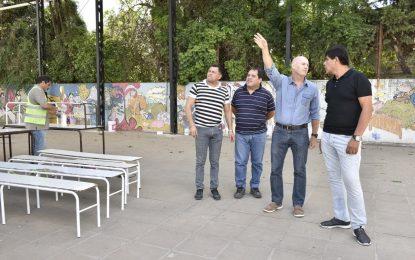 EL MUNICIPIO REACONDICIONA ESCUELAS EN MALVINAS ARGENTINAS
