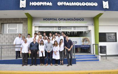 REINAUGURACIÓN DEL RENOVADO HOSPITAL OFTALMOLÓGICO DE MALVINAS ARGENTINAS