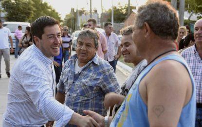 INTENDENTE INAUGURA NUEVO PAVIMENTO EN PABLO NOGUÉS DE MALVINAS ARGENTINAS