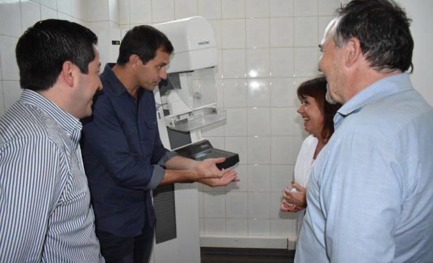 NARDINI RECORRIÓ OBRAS EN EL POLO SANITARIO JUNTO AL DIPUTADO BUCCA