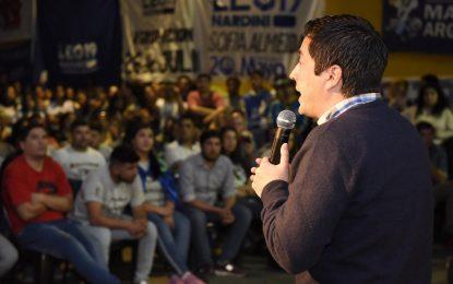 EN MALVINAS ARGENTINAS SIGUE EL CAMBIO GENERACIONAL CON NARDINI 2019 Y LA JP