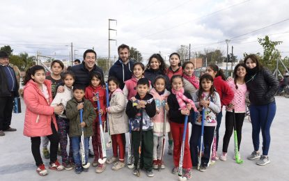 NARDINI RECORRIÓ OBRAS EN MALVINAS ARGENTINAS JUNTO AL CONCEJAL DE PILAR ACHÁVAL