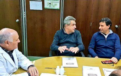 LA PORTA ACOMPAÑÓ A AGUSTÍN ROSSI EN VISITA A FÁBRICA MAMELA DE SAN MIGUEL