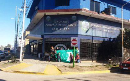 MILITANTES PRESENTAN PROYECTO POR EL DERECHO AL ABORTO EN HCD DE JOSÉ C. PAZ
