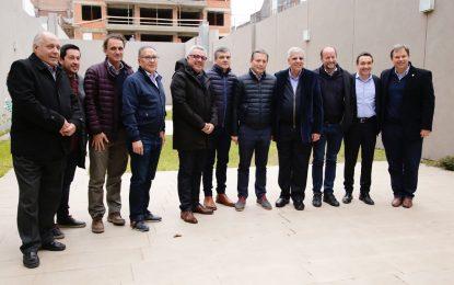 INTENDENTES DEL CONURBANO CON TRABAJADORES DE AYSA ASEGURAN CONTINUIDAD DE OBRAS