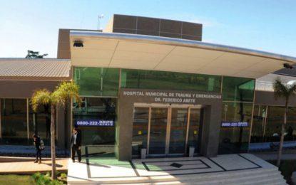 DETENIDO SE DIO A LA FUGA EN EL HOSPITAL DE TRAUMA DE MALVINAS ARGENTINAS