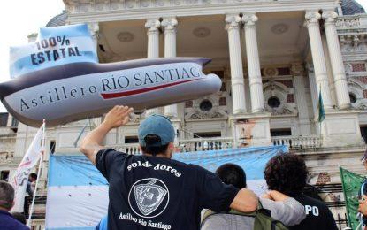"""LOS TRABAJADORES del ASTILLERO LE CONTESTAN A LANATA   """"EL GOBIERNO ES EL RESPONSABLE DE LA CRISIS"""""""