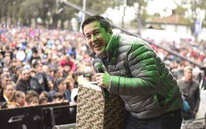 """MÁS DE 100.000 CONCURRENTES A """"LA GRAN AVENTURA"""" PARA LOS NIÑOS EN MALVINAS ARGENTINAS"""