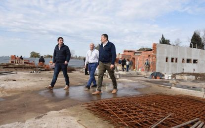 AVANZA EN TIERRAS ALTAS OBRA DE CENTRO DE ATENCIÓN PRIMARIA EN SALUD EN MALVINAS ARGENTINAS