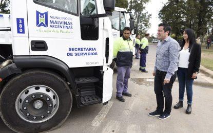 MALVINAS ARGENTINAS INCREMENTÓ SU FLOTA DE VEHÍCULOS PARA TRABAJO