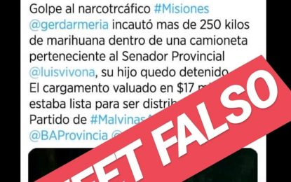 ANTE LA GRAN GESTIÓN MUNICIPAL EN MALVINAS ARGENTINAS EL CARIGLINISMO APELA A LAS FAKE NEWS