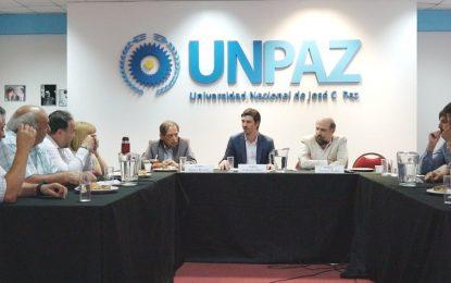 EL MUNICIPIO DE JOSÉ C. PAZ Y LA UNPAZ TRABAJAN POR LA NUEVA FACULTAD DE MEDICINA