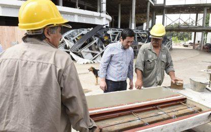 SE INTENSIFICA CONSTRUCCIÓN DEL HOSPITAL UNIVERSITARIO DE DIAGNÓSTICO PRECOZ EN MALVINAS ARGENTINAS