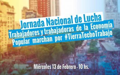 LAS ORGANIZACIONES SOCIALES CONVOCAN A JORNADA DE LUCHA CONTRA EL HAMBRE Y LOS TARIFAZOS