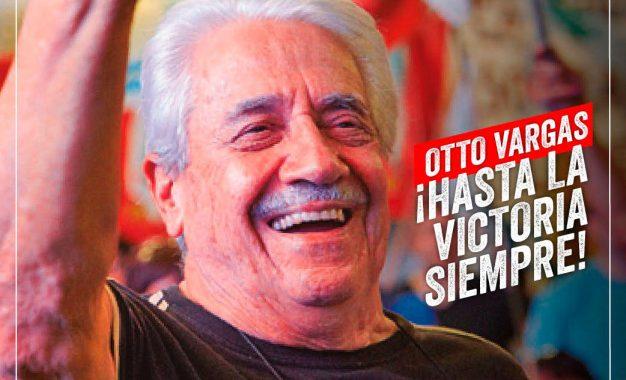 COMUNICADO DEL PARTIDO COMUNISTA REVOLUCIONARIO ANTE LA MUERTE DE SU FUNDADOR OTTO VARGAS