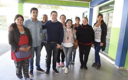 AMPLÍAN Y RENUEVAN ESCUELA SECUNDARIA 27 DE LOS POLVORINES EN MALVINAS ARGENTINAS
