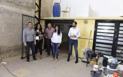 OBRAS DE INFRAESTRUCTURA EN ESCUELA Nº 37 Y ASFALTOS DE ACCESO EN MALVINAS ARGENTINAS