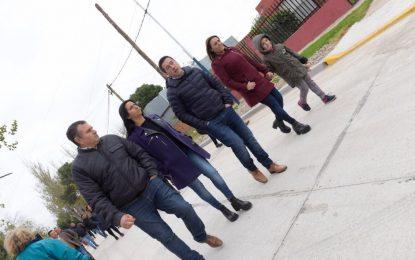 EN MALVINAS ARGENTINAS PAVIMENTAN CALLE QUE CONECTA COLECTORAS DE PANAMERICANA