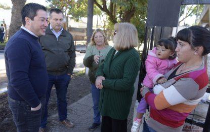 PAVIMENTACIÓN DE COMODORO RIVADAVIA EN LOS POLVORINES INAUGURÓ INTENDENTE NARDINI