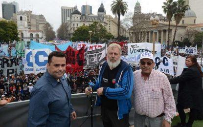 LEO NARDINI 2019 APOYADO POR ORGANIZACIONES SOCIALES Y POLÍTICAS EN MALVINAS ARGENTINAS