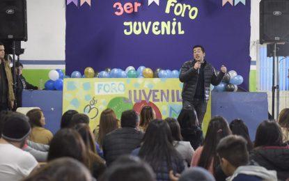 SE REALIZÓ EL 3er. FORO JUVENIL EN MALVINAS ARGENTINAS PARTICIPANDO EL INTENDENTE NARDINI