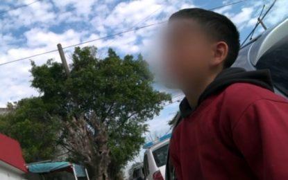 """Denuncian que la entrevista con """"El Polaquito"""" estuvo armada y vulnera los derechos del niño"""