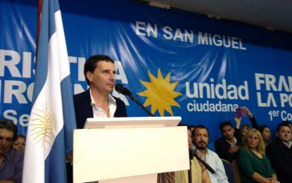 UNIDAD CIUDADANA DE SAN MIGUEL PRESENTÓ SU LISTA OFICIAL PLURAL