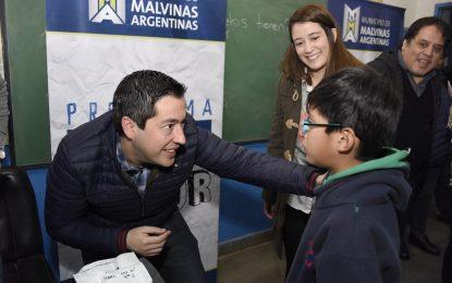 LENTES GRATUITOS PARA MÁS DE 400 ESCOLARES EN MALVINAS ARGENTINAS