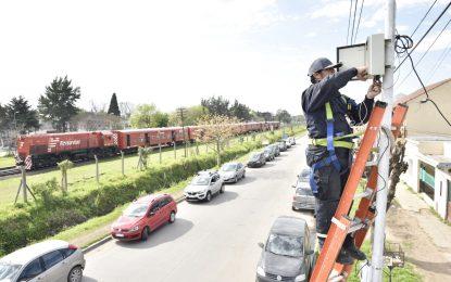 SE DUPLICARON LAS CÁMARAS DE SEGURIDAD EN MALVINAS ARGENTINAS