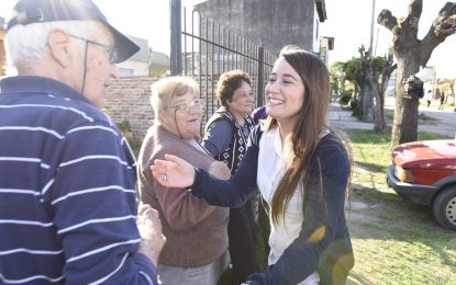 PARA SOL JIMÉNEZ EL CAMBIO EN MALVINAS ARGENTINAS ES LEO NARDINI