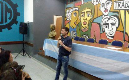 LA PORTA CON FUERTE LLAMADO A LA UNIDAD DEL PJ SAN MIGUEL OFRECIENDO AUTOEXCLUIRSE