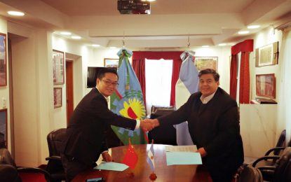 HISTÓRICO: JOSÉ C. PAZ TENDRÁ PLANTA CHINA PARA TRATAR RESIDUOS