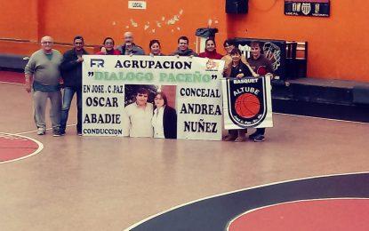 """ACCIÓN SOLIDARIA DE """"DIÁLOGO PACEÑO"""" CON CONCEJAL NÚÑEZ  EN CLUB ALTUBE DE JOSÉ C. PAZ"""