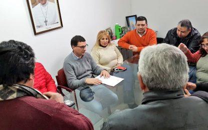 LA PORTA Y EL BLOQUE UC-PJ DEL HCD DE SAN MIGUEL SOLIDARIOS CON CESANTEADOS DE TELAM