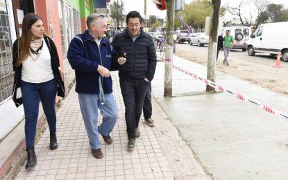 SE AVANZA EN LA RENOVACIÓN INTEGRAL DEL CENTRO COMERCIAL DE TORTUGUITAS EN MALVINAS ARGENTINAS