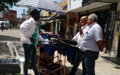 CONTROL DE VENTA AMBULANTE REALIZA DEFENSA DEL CONSUMIDOR EN JOSÉ C. PAZ