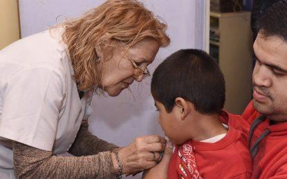 ÚLTIMA SEMANA PARA VACUNAR A LOS NIÑOS CONTRA EL SARAMPIÓN. INFORMA MALVINAS ARGENTINAS
