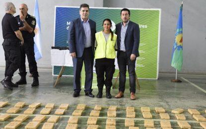 CAE PODEROSA BANDA NARCO EN MALVINAS ARGENTINAS. NARDINI Y RITONDO PRESENTARON LOS RESULTADOS
