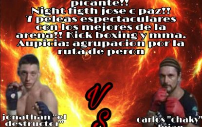 """CARLOS """"CHAKY"""" LUJÁN, LEYENDA PACEÑA DE AMM SE DESPIDE DE LOS RINGS CON COMBATE EN CLUB LIMIT"""