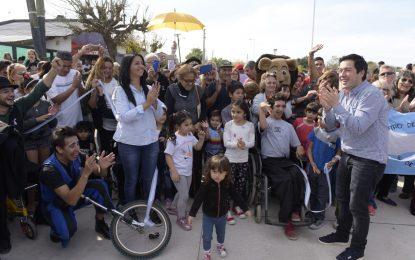 OCHO CUADRAS DE PAVIMENTO EN CONGRESALES JUNTO AL CAMPO ROSSI CREAN ACCESIBILIDAD EN VILLA DE MAYO