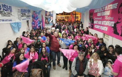 LA CONCEJAL PACEÑA MIRTA DÍAZ PRESENTÓ LA RAMA FEMENINA DE LA AGRUPACIÓN 27 DE OCTUBRE