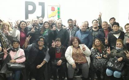 EL PJ SAN MIGUEL REFRENDÓ LA LISTA DE UNIDAD QUE ENCABEZA FRANCO LA PORTA