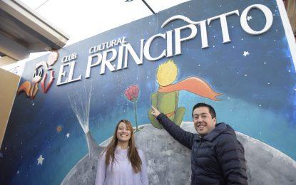 """EL INTENDENTE LEO NARDINI Y LA CONCEJAL SOL JIMENEZ INAUGURAN CLUB CULTURAL """"EL PRINCIPITO"""" EN MALVINAS ARGENTINAS"""