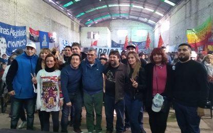 """LEO NARDINI RECIBIÓ EL APOYO DE """"LOS CAYETANOS"""" EN MASIVO ACTO EN TORTUGUITAS"""