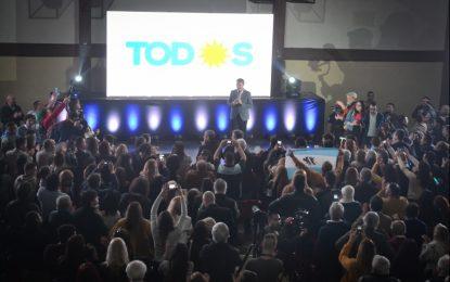 FRANCO LA PORTA PRESENTÓ SU PROGRAMA DE GOBIERNO PARA SAN MIGUEL ACOMPAÑADO POR KICILLOF Y NUMEROSOS INTENDENTES