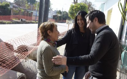 PAVIMENTOS E HIDRÁULICA COMO ACCESO A ESCUELAS EN SANTA LUCÍA DE MALVINAS ARGENTINAS